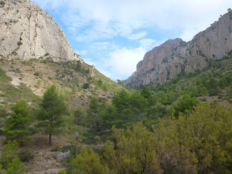 пешие прогулки на природе Испания