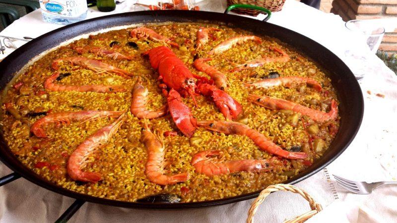 Паэлья с морепродуктами, Валенсия