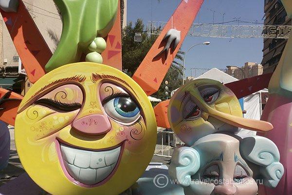 Огерас Сан Хуан главный летний праздник Аликанте