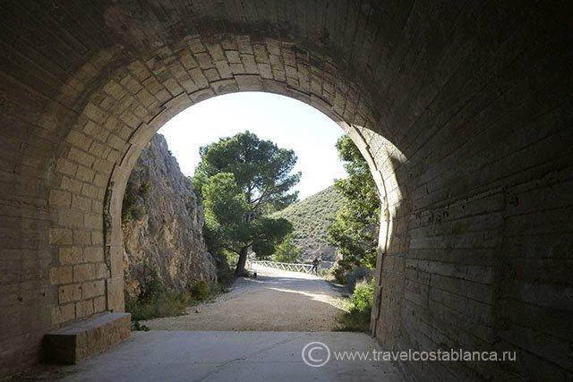 Велосипедные маршруты в Испании, на побережье Коста Бланка