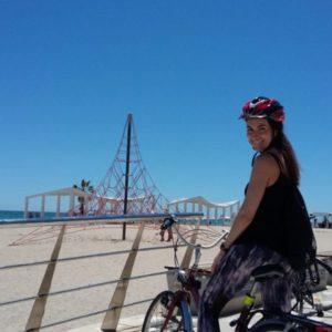 Велосипедная экскурсия в Аликанте фото туристов
