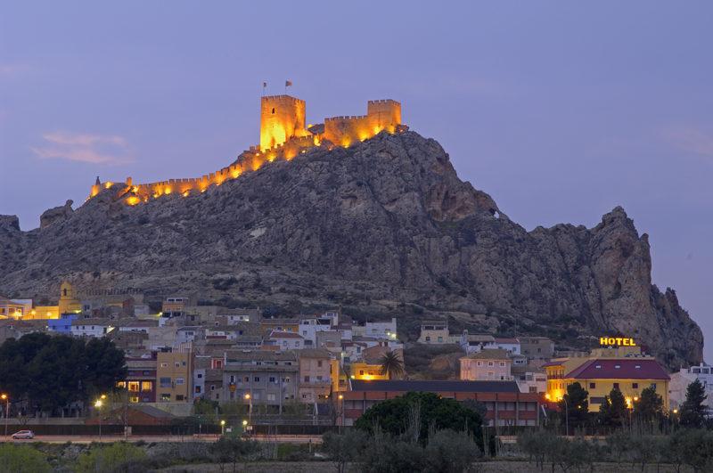 Замки в Испании, Сах, Аликанте