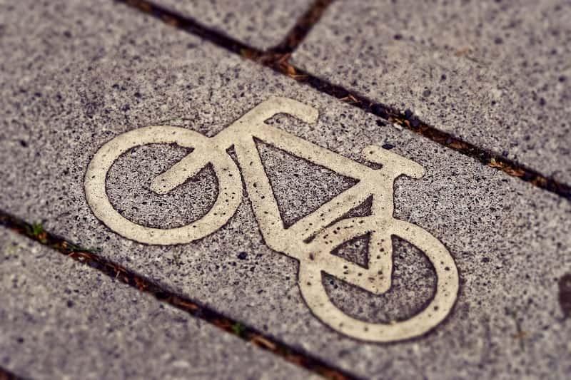 Штрафы для велосипедистов в Испании