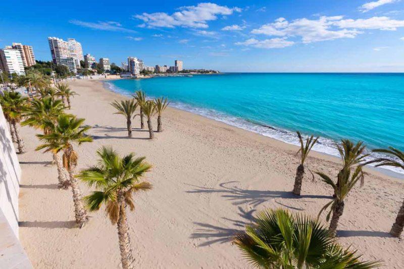 Лучший пляж в Аликанте, Сан Хуан