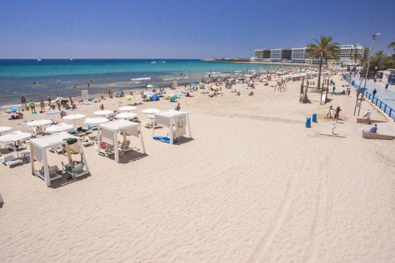 Пляжи в Аликанте, Постигет
