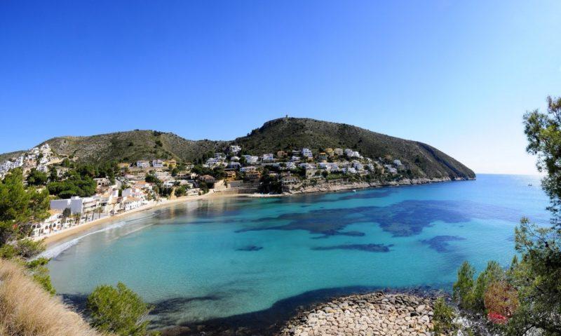 ТОП 10 пляжей Коста Бланки, Морайра