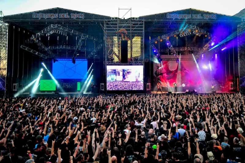 Праздники в Испании, рок фестиваль в Бенидорме