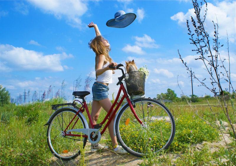 Велосипедные прогулки — польза для души и тела