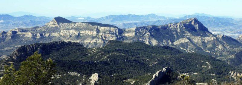 горы в Испании, Сьерра де Мариола, Коста Бланка