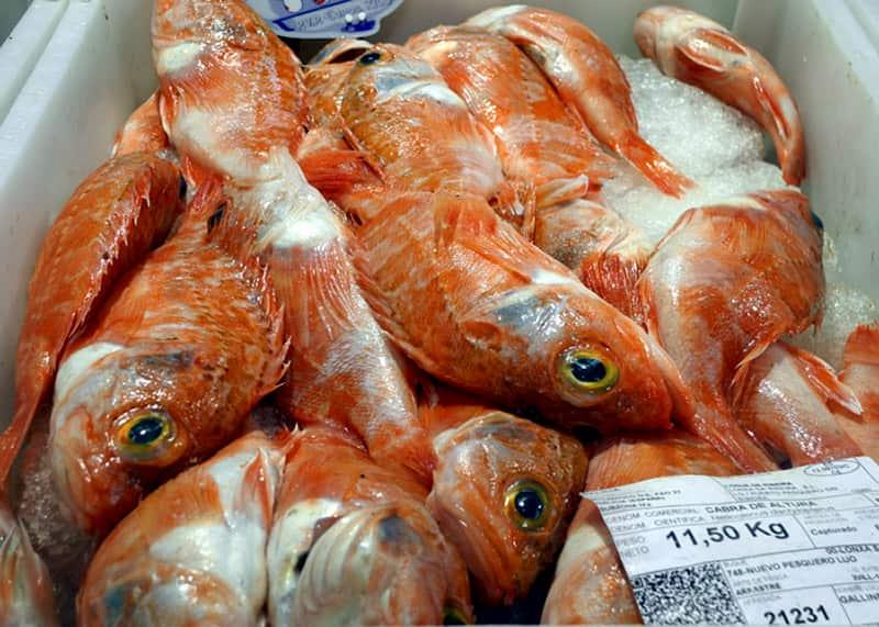 Рыба на рынке в Аликанте