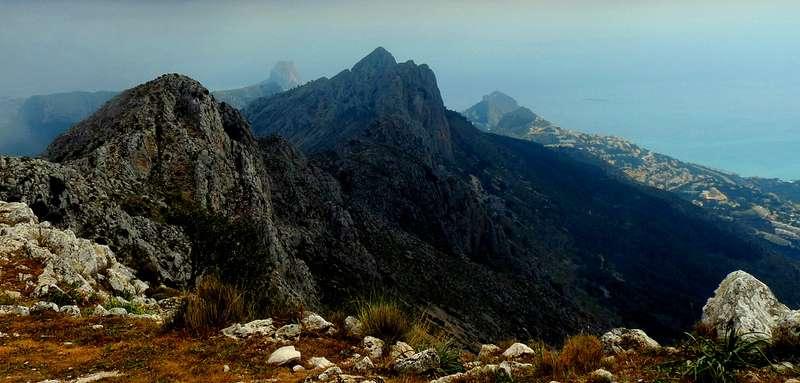 Горы в Испании-Айтана, Аликанте