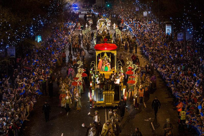 Праздник 3 королей в Испании
