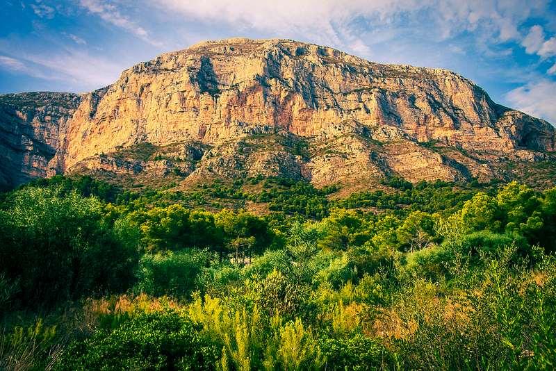 природный парк Монтго в Испании, провинция Аликанте