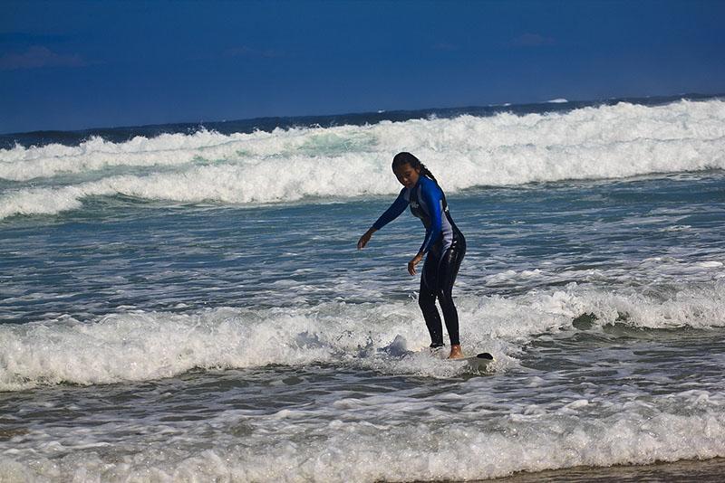 Серфинг на побережье Коста Бланка