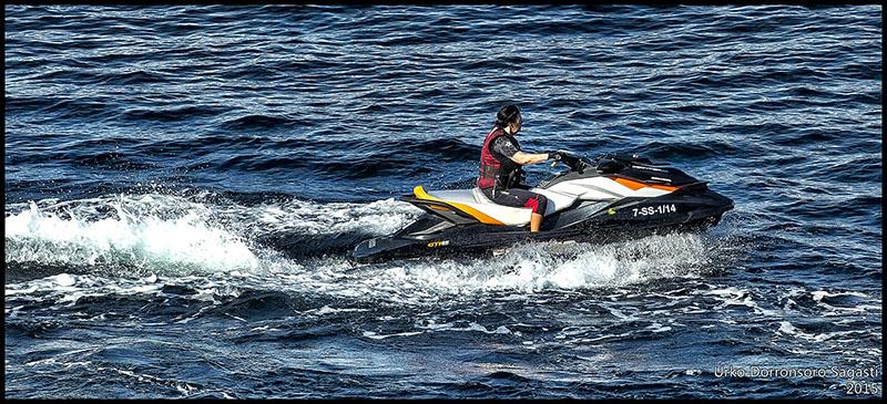 Катание на водных мотоциклах в альтеа