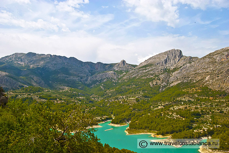 Топ 10 самых красивых деревушек на Коста Бланке, Испания