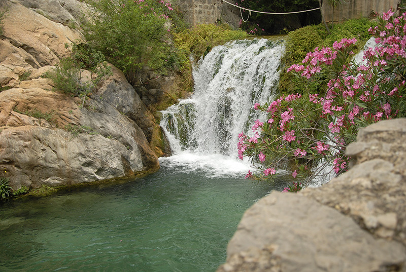 Водопад Альгара Бенидорм