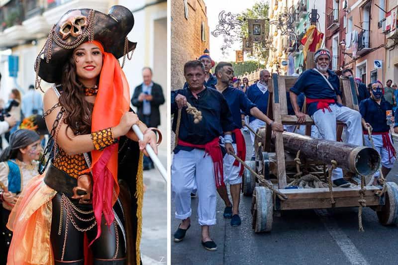 какие праздники отмечают в испании Мавры и Христиане. Вильяхойоса