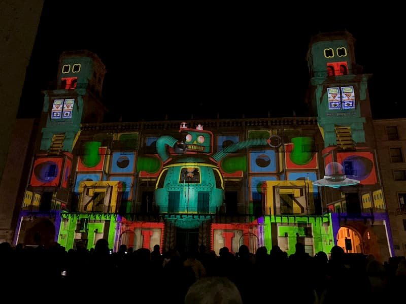 Рождественское шоу в Аликанте