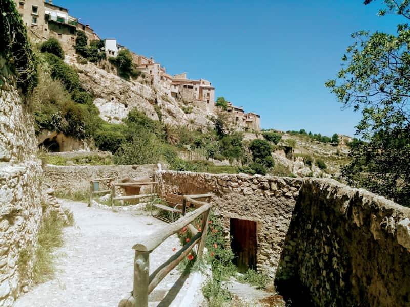 Бокаирент - город в скале