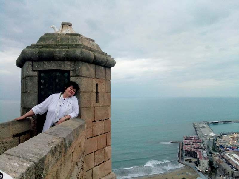 Фото туристов в крепости Санта Барбара
