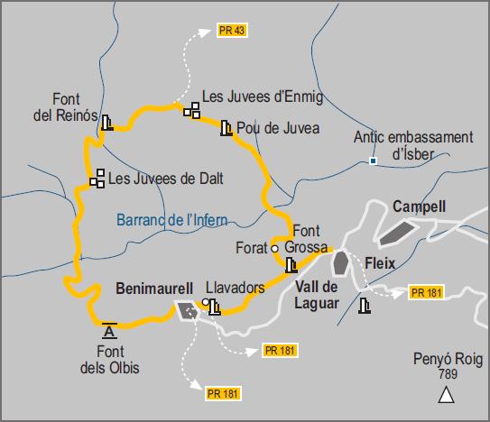 plan El Barranc de l'Infern