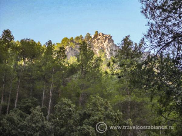 National park Sierra de Mariola
